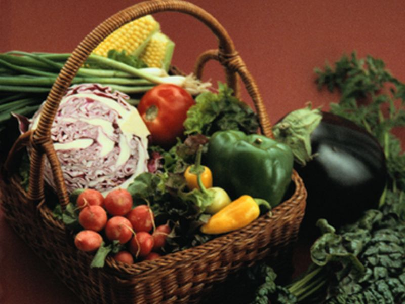 News Picture: How Many Fruits and Veggies Do You Really Need?