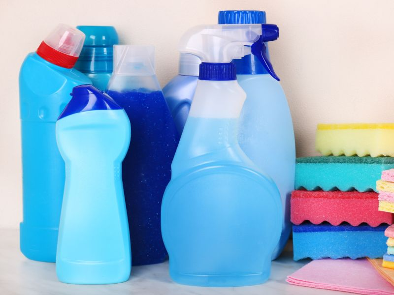 News Picture: Could Household Cleaners Make Your Kid Fat?