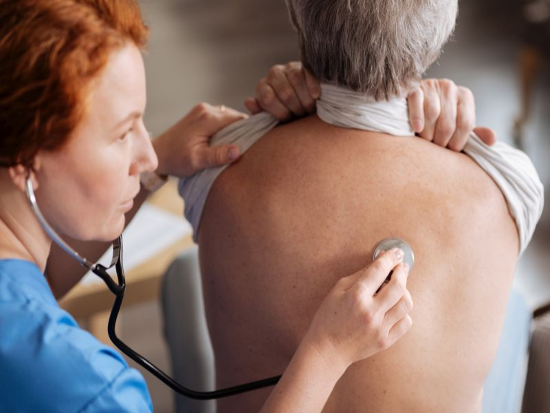 News Picture: COPD May Strike Women Harder Than Men