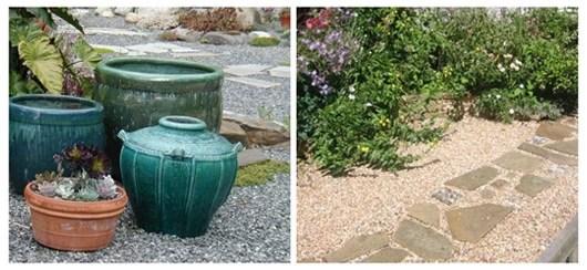 Ideas for landscaping: Grassless backyard landscaping on Grassless Garden Ideas  id=91344