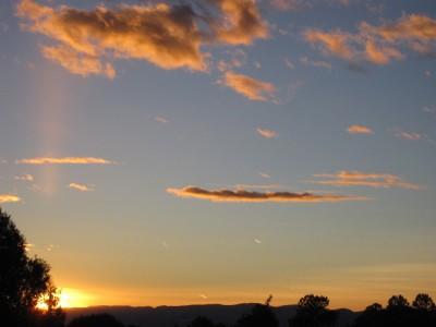 Truchas Sunset