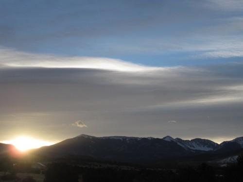 truchas, new mexico sunrise