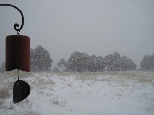 freak snowstorm