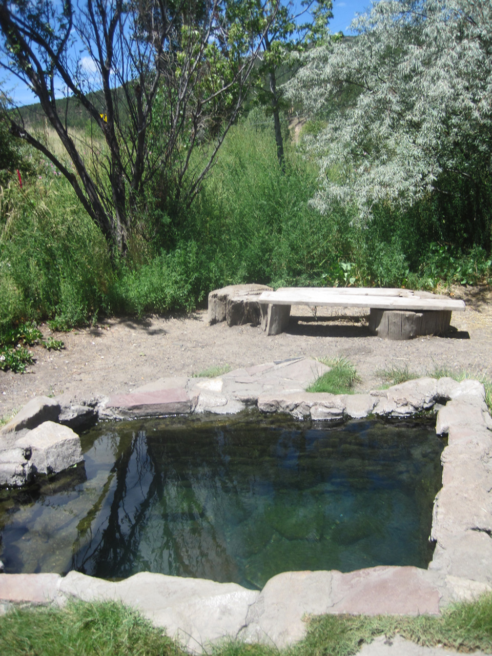 On The Road In New Mexico Montezuma Hot Springs