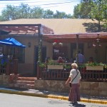 On the Road in New Mexico: El Farol Restaurant