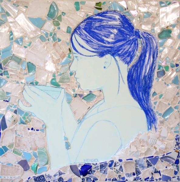 Blue Girl print copy