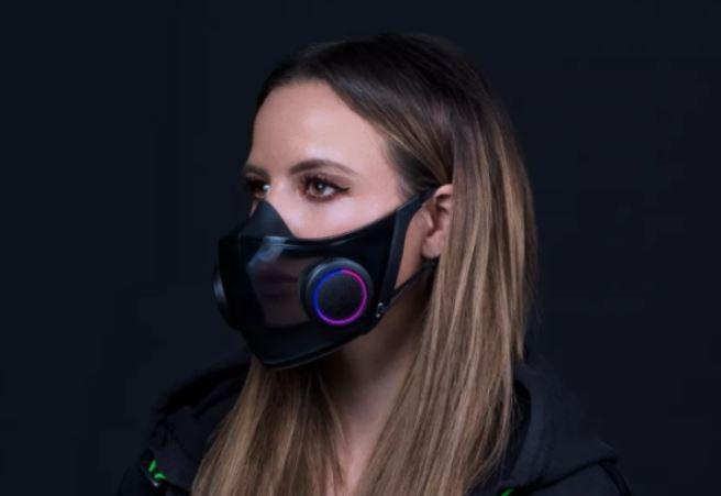 Masker ''gaming'' Razer Project Hazel. (Razer)