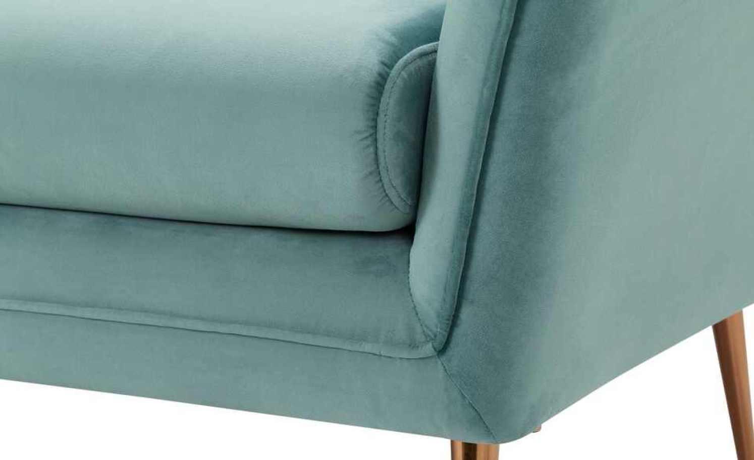 Sofa, 3-sitzig TOLITA - Samt