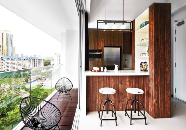8 Balcony Design Ideas From Real Homes In Singapore Home Decor Singapore