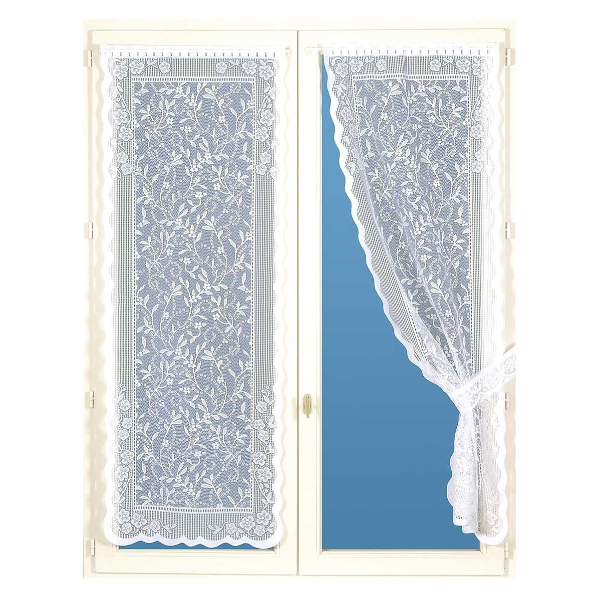 rideau 60 blanc