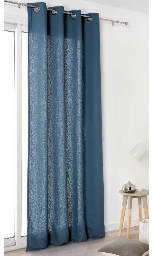 rideau marine bleu