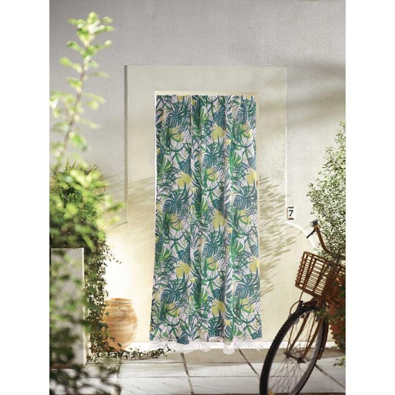 rideau de porte marseillais imprime