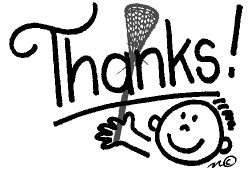 Image result for thank you lacrosse pictures
