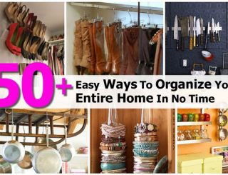 Easy Hacks to Organize Your Entire House