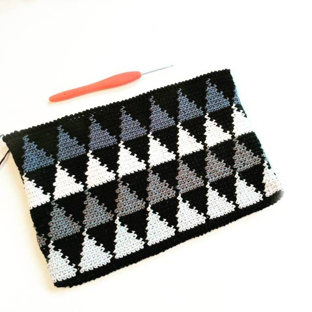 The Sergel Clutch English pattern out now on hookedbyannacom! Gohellip