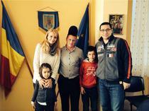 Victor Ponta cu familia sa si Ciobanul Ghita