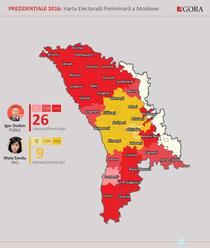 Alegeri R. Moldova, rezultate preliminare