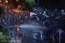 Interventie a Jandarmerie la protestul Diasporei