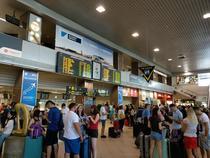 La aeroportul Otopeni