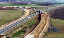 Nodul rutier de la Sebes intre Autostrazile A10 si A1 si DN1