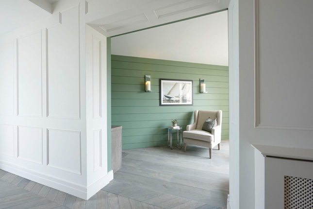 Channelling Panelling Everything To Know About Decorative Wood Panelling Houseandhome Ie