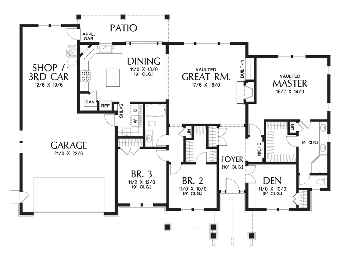 House Plan Eb The Umatilla