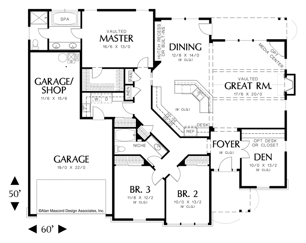 House Plan The Galen
