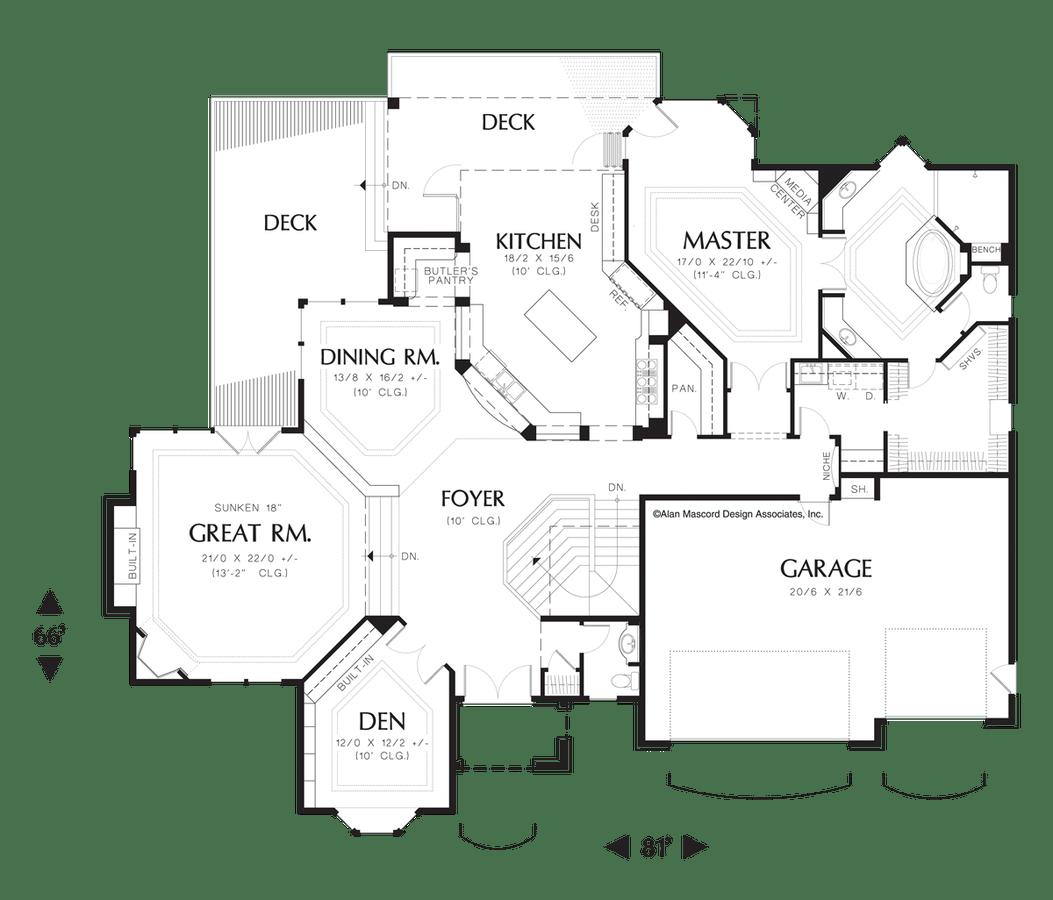 European House Plan The Avellana Sqft 4 Beds