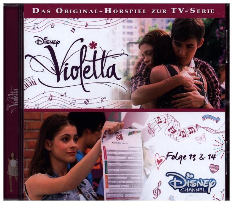 Disney - Violetta Folge 13 & 14 als Hörbuch
