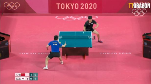 Jeoung Young-sik was eliminated in the quarterfinals of the Olympics. (Photo: Play/Youtube)