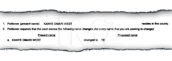Kanye West Name