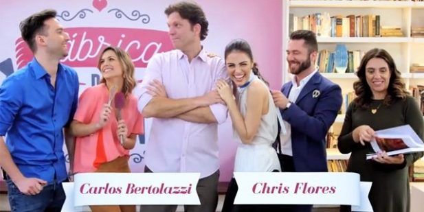 """""""Wedding Factory"""" it was led by Chris Flores and Carlos Bertolazzi.  (Photo: Reproduction/YouTube)"""