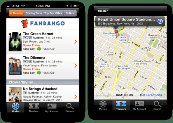 Image result for fandango app