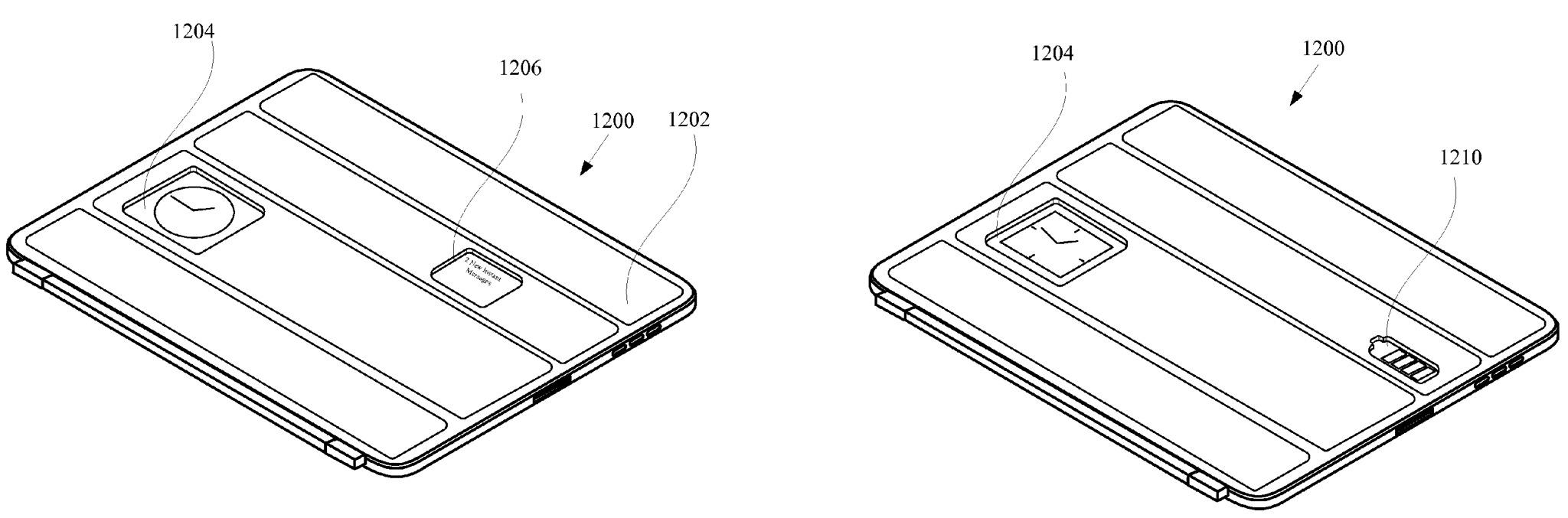 Mela seethrough Smart Cover di brevetto (disegno 003)