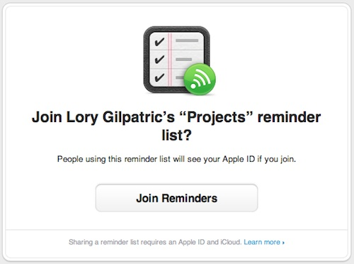How to share reminders 2