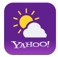 Yahoo Weather 1.0 for iOS (app icon, small)