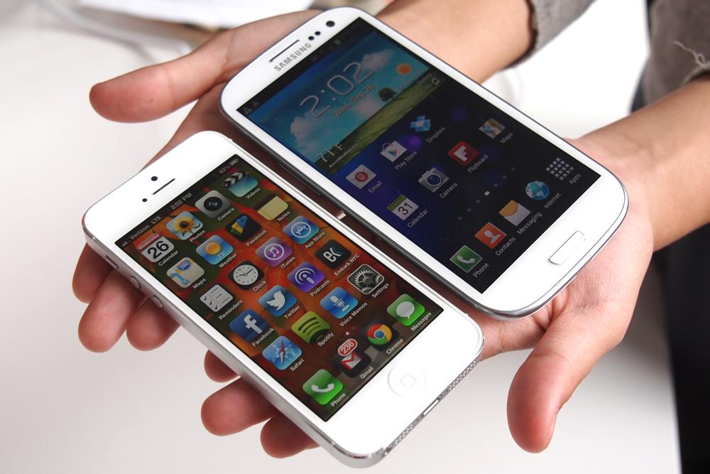 iPhone 5 Galaxy S4 (Tagscape 001)