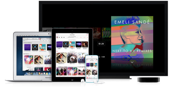 iTunes Radio (teaser, iPod touch, iPad, MacBook Air, Apple TV)