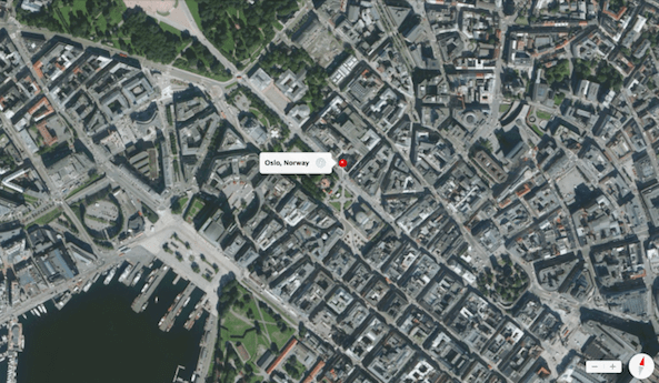 norway oslo maps