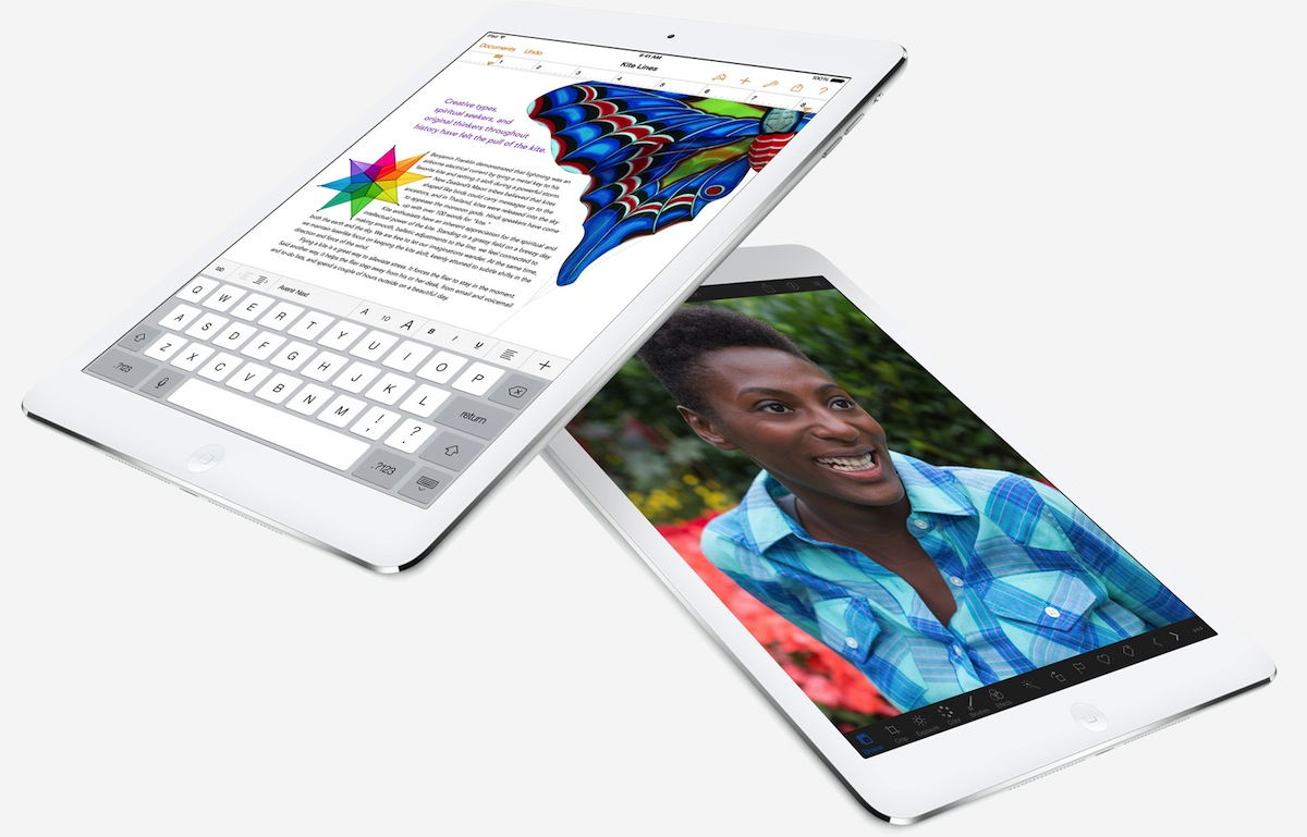 iPad Air Pages iPhoto
