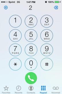 Przycisk odebrania połączenia w iOS 7.1 beta 3