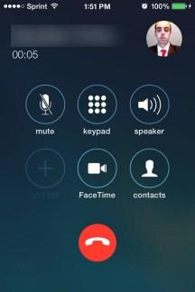 Przycisk odrzucenia połączenia w iOS 7.1 beta 3