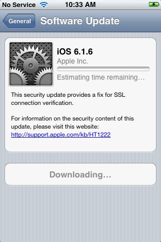 iOS 6.1.6
