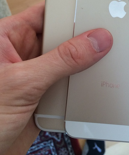 iPhone 6 back part (Evasi0nJailbreak 003)