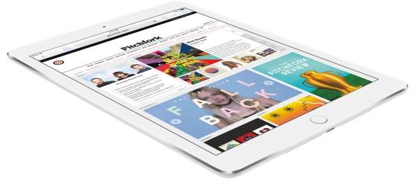 iPad Air 2 silver flat