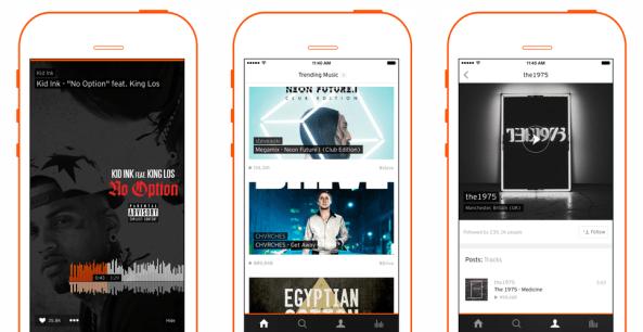 SoundCloud 3.6 for iOS (iPhone screenshot 002)