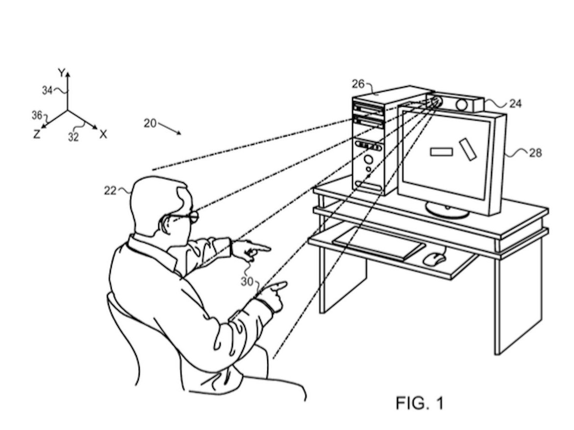 Apple Files Another Patent For Kinect Like Technology For