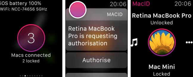 MacID para Apple Watch