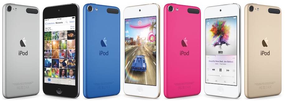 iPod touch sixth generation lineup 001