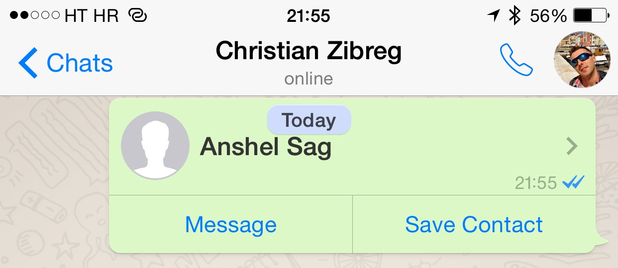 WhatsApp 2.12.5 for iOS iPhone screenshot 008